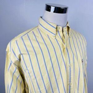 Polo Ralph Lauren Large Blake Oxford Shirt Yellow